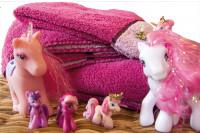 Altersweisheiten von Handtüchern und pinken Ponys