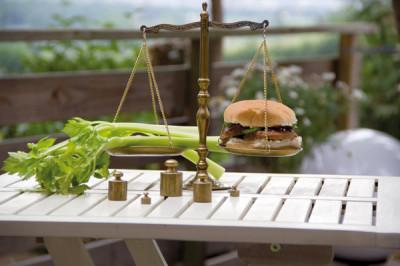Sellerie oder Burger, das ist hier die Frage...